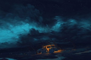 Dramatic Night Wallpaper