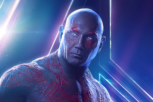 Drax In Avengers Infinity War New Poster