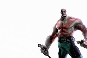 Drax The Destroyer Art Wallpaper