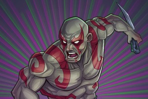 Drax The Destroyer Digital Art