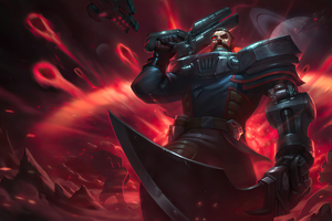 Dreadnova Gangplank League Of Legends Wallpaper