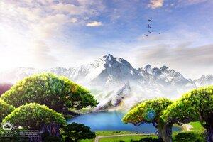 Dream Lake Wallpaper