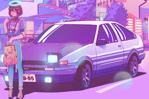 Dream Life Synthwave Wallpaper