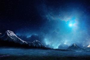 Dreamscape Blue Morning 4k Wallpaper