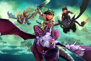 DreamWorks Dragons Dawn Of New Riders Wallpaper