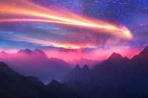 Dreamy Sky Mountains 5k