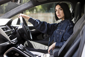 Dua Lipa X Jaguar Photoshoot 2018