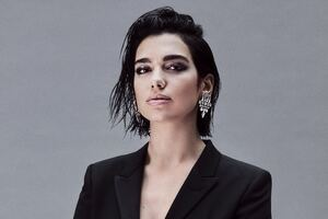 Dua Lipa Yves Saint Laurent 209 Wallpaper