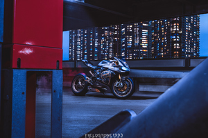 Ducati 1199 Panigale S Photography Wallpaper