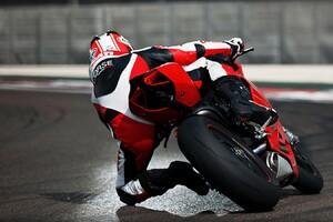Ducati 1199 Taking Corner