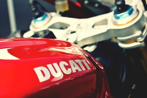 Ducati Bike Tank Wallpaper