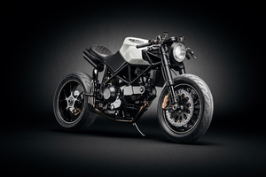 Ducati Custom Cafe Fighter Wallpaper