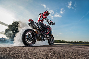 Ducati Hypermotard Hyperstrada 512 2019 Wallpaper