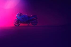 Ducati Neon 4k Wallpaper