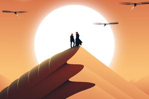 Dune Movie Fanart Poster 4k Wallpaper