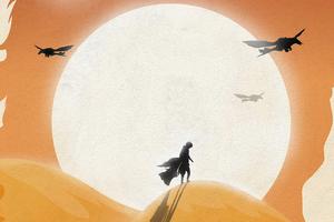 Dune Movie Poster Art Wallpaper