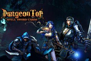 DungeonTop Spell Sword Cards Wallpaper
