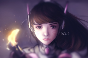 Dva Cute Art Wallpaper