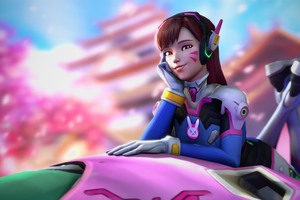 Dva Overwatch Wallpaper