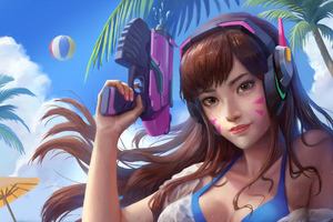 Dva Summer Version Wallpaper
