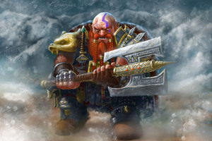 Dwarf With His Metal Hammer