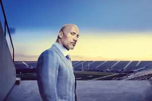 Dwayne Johnson In Ballers Tv Series 4k Wallpaper