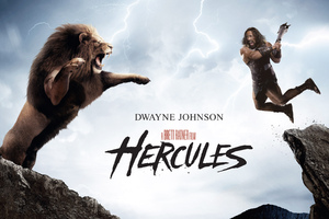 Dwayne Johnson In Hercules Movie