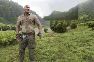 Dwayne Johnson In Jumanji Welcome To The Jungle