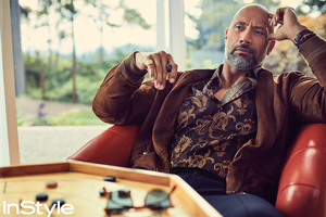 Dwayne Johnson InStyle 2017
