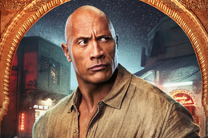 Dwayne Johnson Jumanji The Next Level Wallpaper