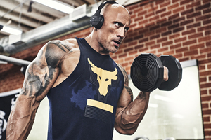Dwayne Johnson Under Armour 5k 2019