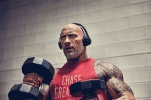 Dwayne Johnson Workout 2019 Wallpaper