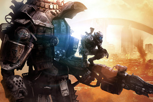 Dystopia Titanfall 2 Wallpaper