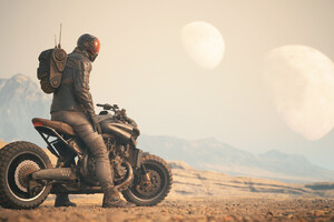 Dystopian Rider