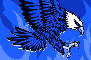 Eagle Of Flames 5k Wallpaper