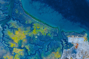 Earth Aerial View Abstract