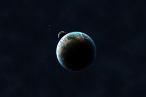 Earth From Outer Space 4k Wallpaper