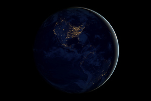 Earth From Space 4k Wallpaper