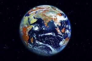 Earth Space Digital Art