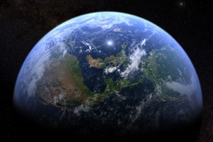 Earth Space Wallpaper