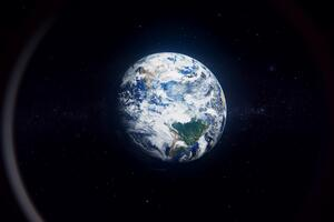 Earth View From Space 8k Wallpaper