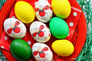 Easter Eggs Art
