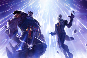 Ebony Maw In Contest Of Champions 2020 Wallpaper