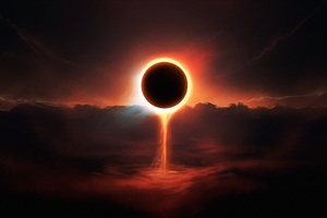 Eclipse Artwork Wallpaper