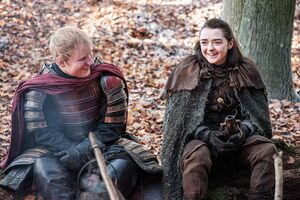 Ed Sheeran And Maisie Williams Game Of Thrones