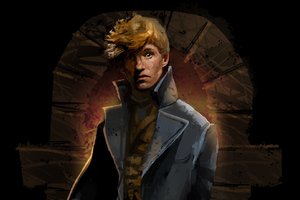 Eddie Redmayne In Fantastic Beasts The Crimes Of Grindlewald Art