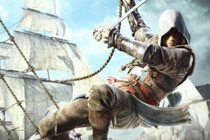 Edward Kenway In Assassins Creed 4 Wallpaper