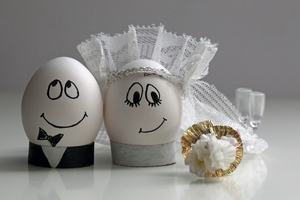 Eggs Wedding Wallpaper