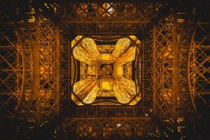 Eiffel Tower Paris France Abstract 5k Wallpaper