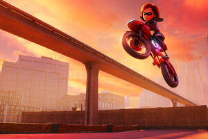 Elastigirl In The Incredibles 2 Movie 4k